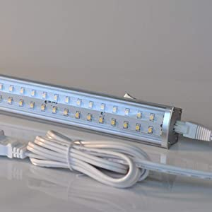 RADIONIC HI-TECH ZX515-CL-CW LED Linkable Cove Light,4500K,19 In,6.9W