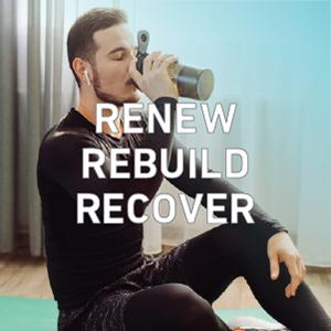 Senzu Collagen Peptides Gym Renew Rebuild Recover Protein protéine renouveler récupérer