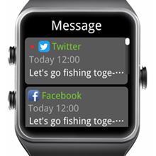 call message alerts and message reading