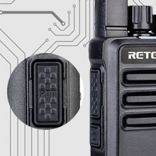 2 way radios with larger PTT button