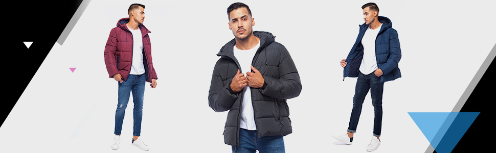 winter coats for men puffer jacket