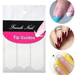 nail art finger tip guide