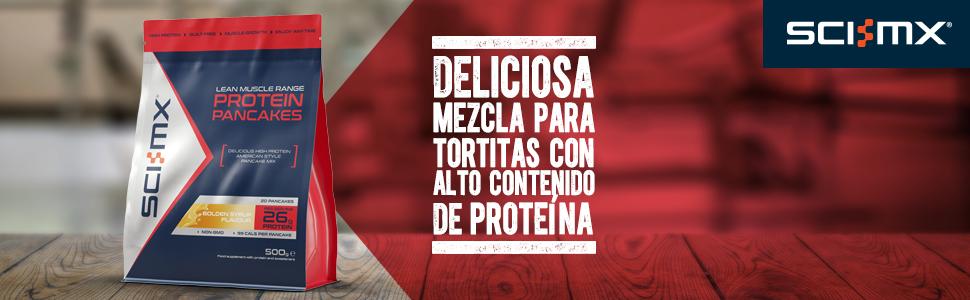 SCI-MX Protein Pancake mix, Tortitas proteicas, 500 g