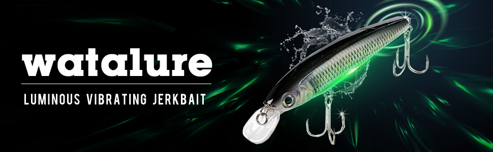 Watalure Luminous Vibrating Jerkbait