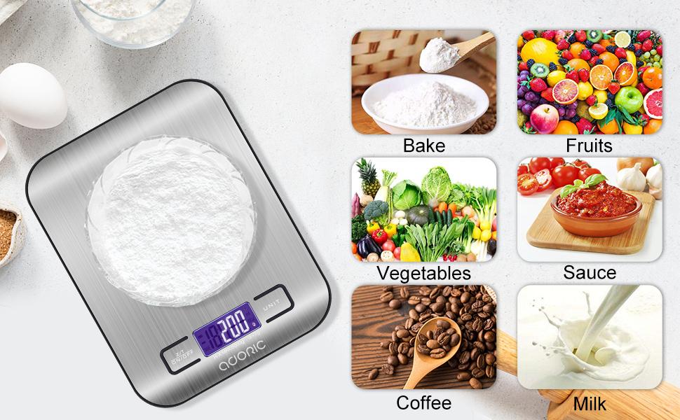 Adoric kitchen scales