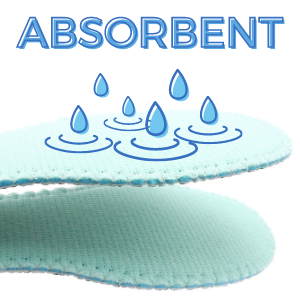Sticky Absorbent Insole