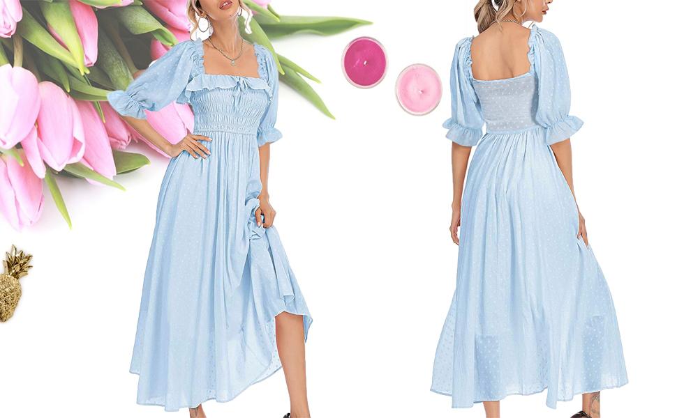 ruffle dresses for women elegant