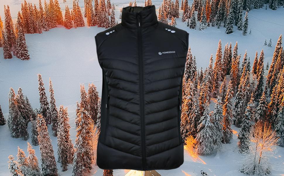 Men's Lightweight puffer Vest