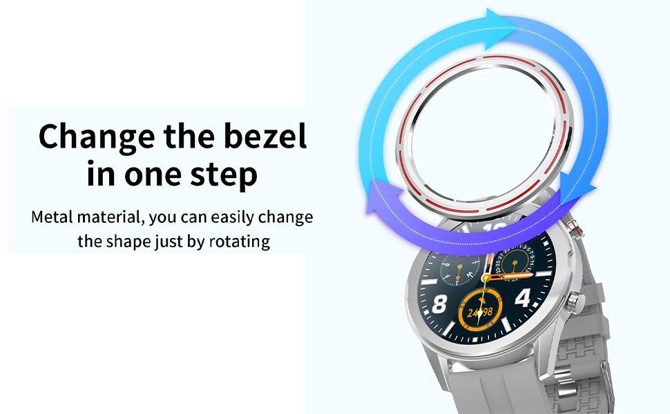 Smartwatch Bezel Rings