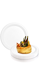 disposable dinner plates biodegradable compostable paper recycled dinnerware set eco
