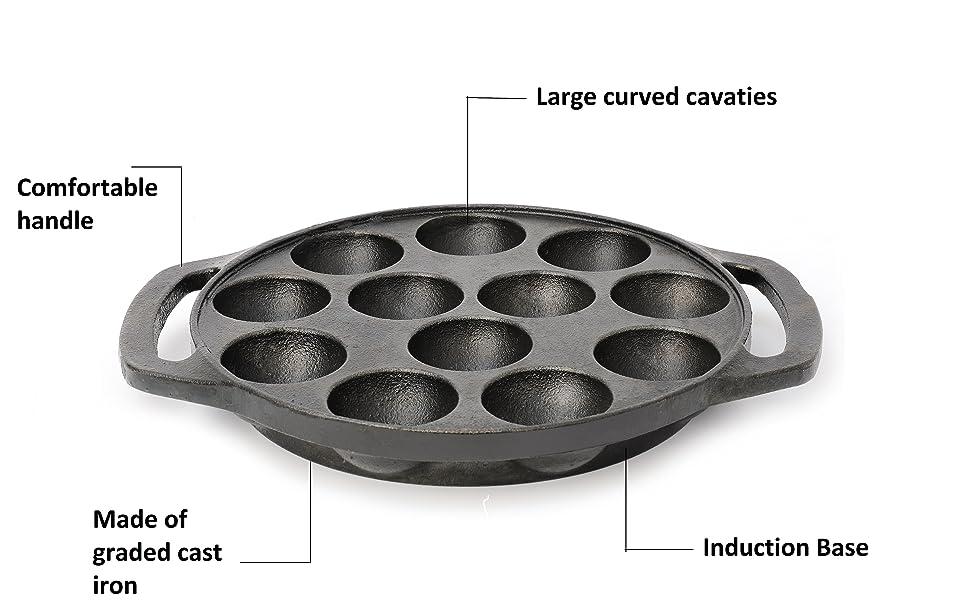 everex adjustable multipurpose pan and pot tawa rack holder en pan cast iron tawa tawa pan for induc