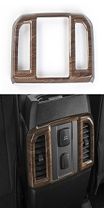 Rear Air Conditioning Vent Outlet Frame Cover Trim for Ford F150 2016 2017