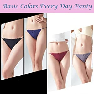 multicolored soft every day panty