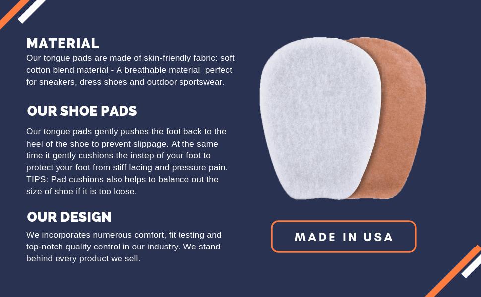 shoe fitting pads