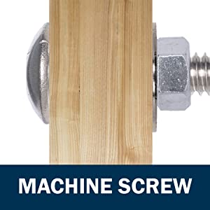BCP159 Good Holding Power in Different Materials 300 Qty #10 x 1 Truss Head 304 Stainless Phillips Head Wood Screws - Durable and Sturdy