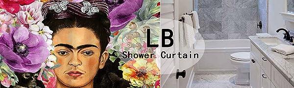 LB Shower Curtain