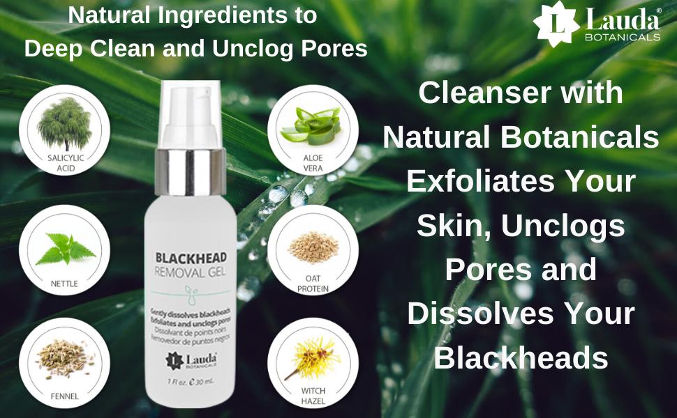 blackhead remover deep pore cleanser acne whiteheads skin clearing anti-blackhead scrub