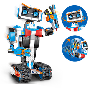 4a5aac83 2379 42ce aab3 5e72f9ae6949.  CR0,0,300,300 PT0 SX300 V1    - okk STEM Robot Building Block Toy for Kids, Remote and APP Controlled Engineering Science Educational Assembling Learning Kits Intelligent Rechargeable Creative Set for Boys Girls Gift (635 Pieces)