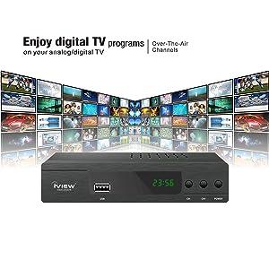 digital tv programs analog digital over the air channels