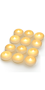 Floating Candles - Wax 3 Inch