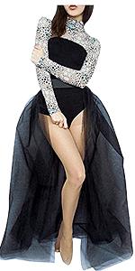 long tutu skirts for women