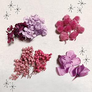 プリザーブドフラワー 花材