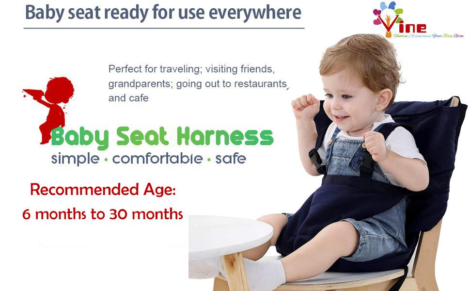 Rasen Strand f/ür Essen Camping FLOX Klappbarer Kinderstuhl aus Aluminiumlegierung tragbarer Hochstuhl