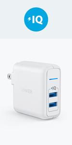 Anker PowerPort 2 Elite 充電器 USB コンセント