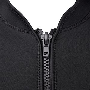 Durable Front Zipper
