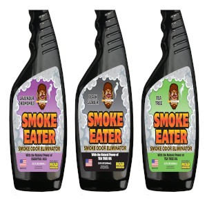 Smoke Eater industrial strength and size 22 oz bottles