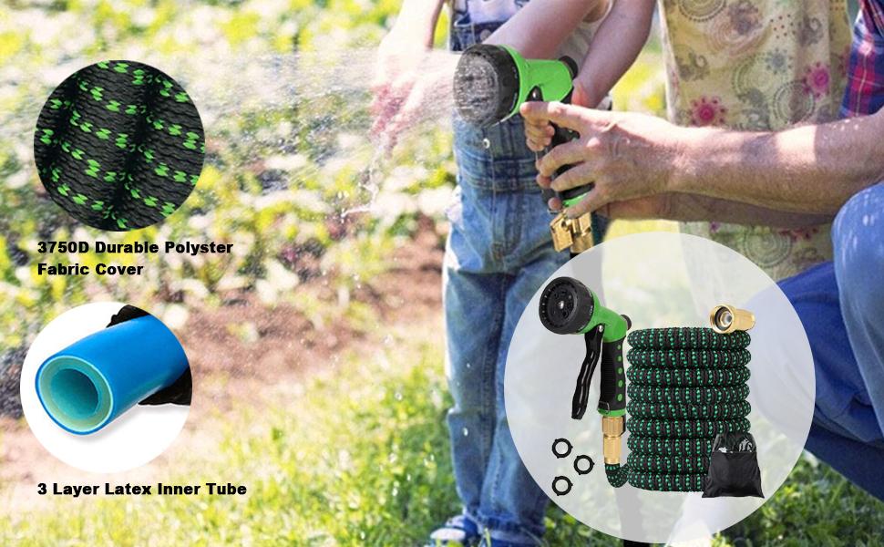 expandable flexible expanding hose water hose pipes