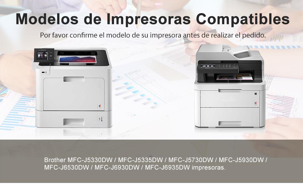 CMYBabee LC3219XL cartuchos de tinta Reemplazo para Brother LC ...