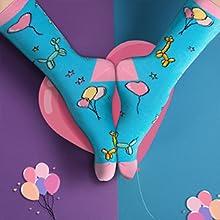Novelty Happy Birthday Socks