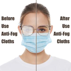 anti fog reusable microfiber clean cloth for reading glasses eyeglasses phones screens