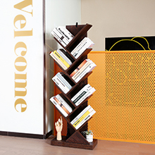 Floor Standing Bookcase for CDs/Movies/Books