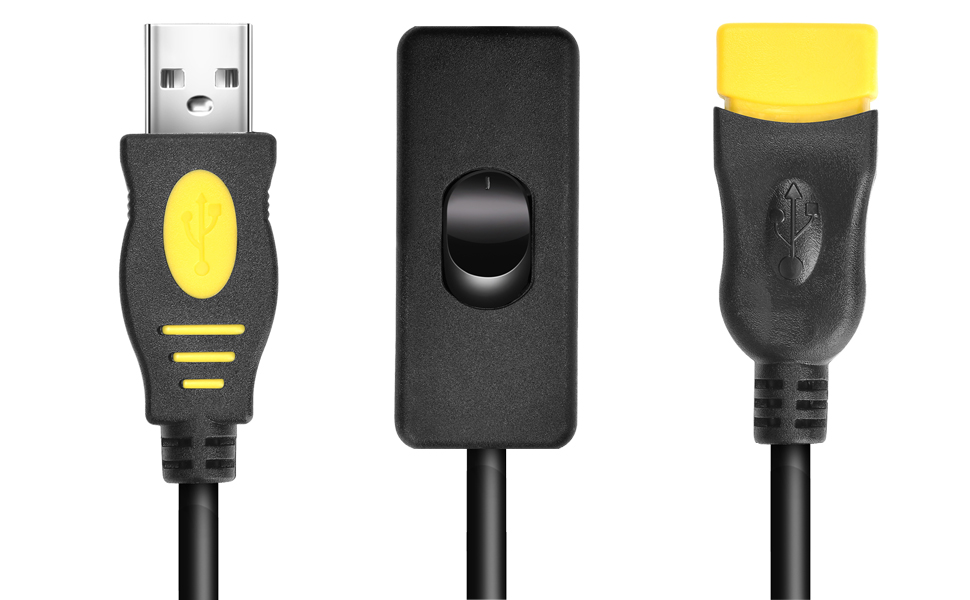 Practical Short USB 2.0 Type A Female To Male Extension Extender Cable Cord J xk