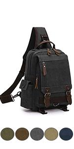 canvas travel daypack
