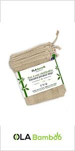 natural organic reusable cotton produced bags
