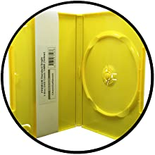 yellow dvd case