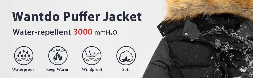 Only /& Sons John Faux Fur Parka Jacket Mens Warm Long Hooded Padded Winter Coat
