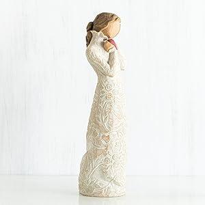 I LOVE YOU Resin Figurine Willow Tree® by Susan Lordi 26231 Je t/'aime BNIB