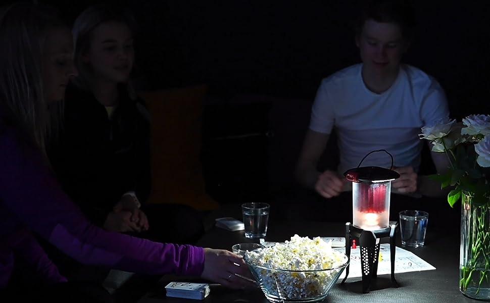 Luminiser thermoélectrique Huile Lanterne Huile et recharges