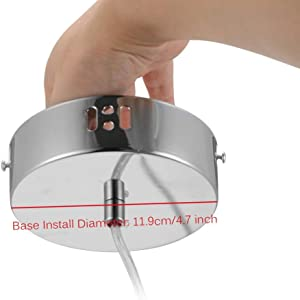 Base Install Diameter: 11.9cm/4.7 inch