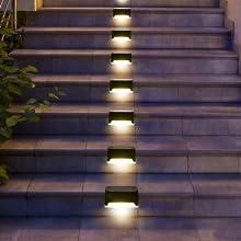 solar deck lights outdoor waterproof, dock lights, driveway lights, driveway lights solar powered