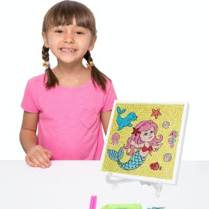 little jupiter diamond arts and crafts mermaid gifts for girls Christmas presents for boys and girls