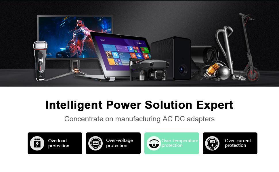 KFD Laptop charger universal power adapter supply UK Mains 5V 6V 9V 12V 18V 19V 19.5V 20V 24V 48V