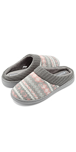 Women's Sweater Knit Slippers