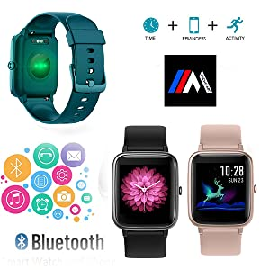 Mcnnadi Smart Watch Call and Message Notifications