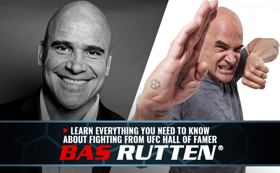 BAS RUTTEN MMA Workout street fighting UFC Thai boxing striking Instructional stamina speed power
