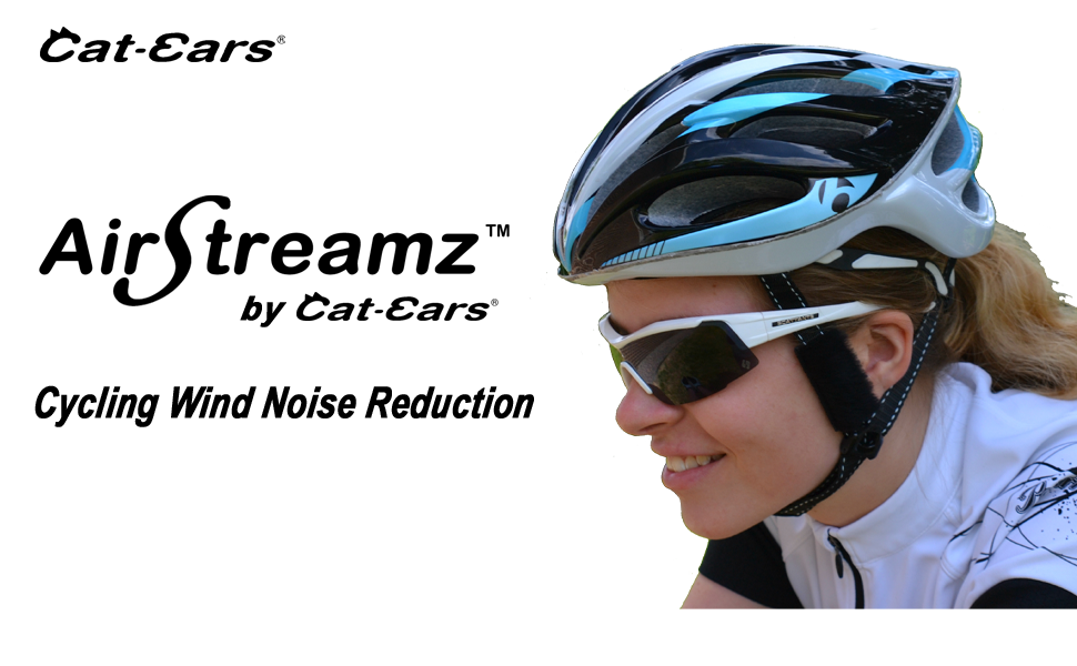 cycling, wind noise, airstreamz, wind-blox, wind blox, reduce wind noise, bike helmet accessories